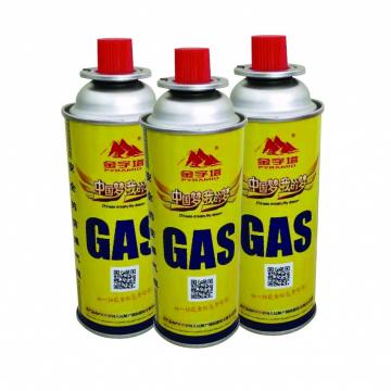 Butane Canister Refill portable camping butane gas canister manufacturing