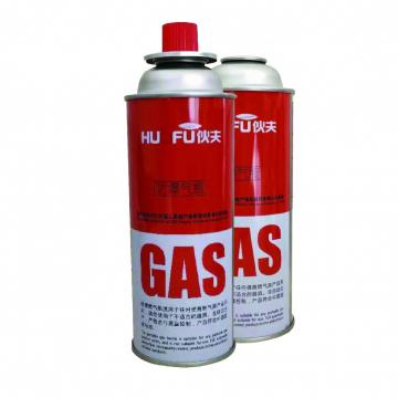 Empty camping gas can butane gas canister gas container 190gr for camping stove