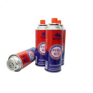 Professional butane canister 220g and butane gas fuel