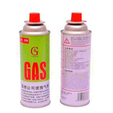 Eco-friendly Butane gas cartridge and camping gas butane canister refill
