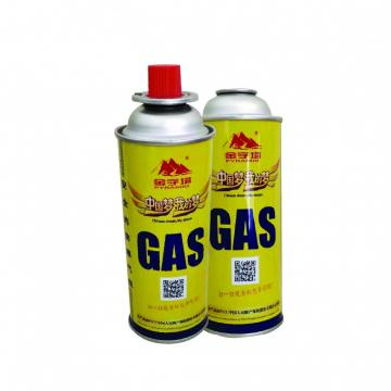 99% Universal BBQ Cassette Butane Gas Cylinder made in china