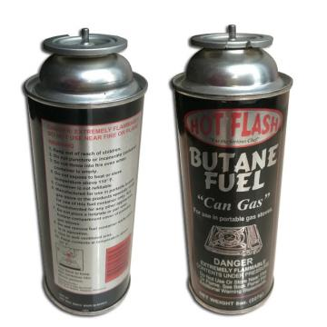 Can cylinder, 220g butane refill gas cartridge and camping gas butane canister refill