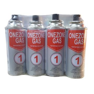 With Valve and Cap Refillable butane gas can lighter gas can gas bottle