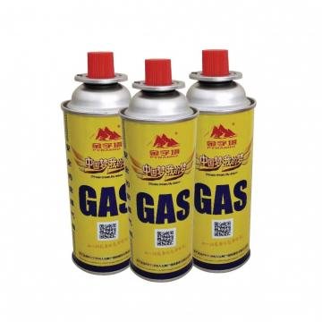 Fuel Energy Empty Tinplate Safety Powerful Butane Gas Canister gas cylinder 190 gr