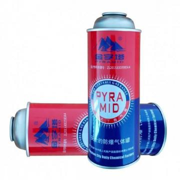 Camping Round Shape 227g portable camping gas bottle