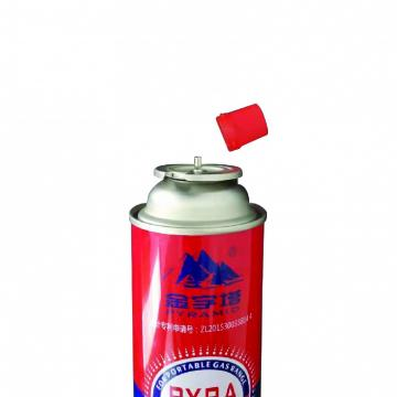 Camping Round Shape 220g butane gas cartridge can canister cylinder